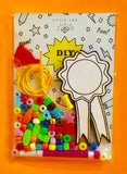 """DIY AWARD RIBBON"" NECKLACE KIT"