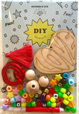 """DIY VALENTINE'S LOVE"" NECKLACE KIT"