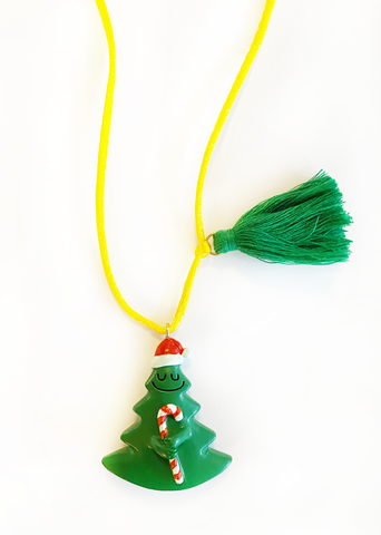"""HOLIDAY TREE"" NECKLACE"