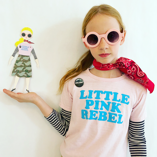 RILEY PAPER DOLL COLLABORATION WITH OF UNUSUAL KIND + GUNNER & LUX