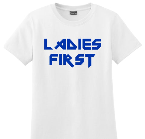 """LADIES FIRST"" WOMEN'S T-SHIRT"