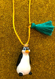 PARKER THE PENGUIN NECKLACE