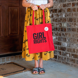 GIRL RIGHTS TOTE COLLABORATION WITH GIRL WONDERFUL