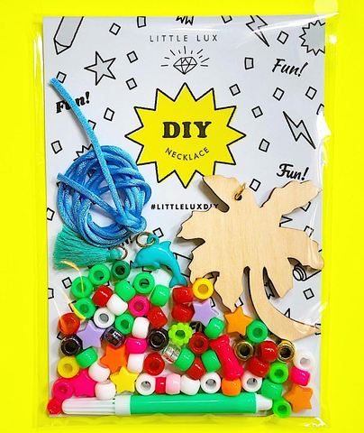 DIY PALM TREE NECKLACE KIT!