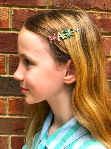 MAGIC Rhinestone Hairclip Collaboration with DAILY DISCO