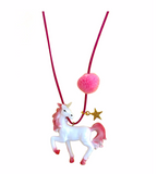 """REBEL THE PINK UNICORN"" NECKLACE"