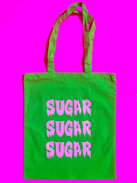 "TRICK OR TREAT ""SUGAR"" BAG + FREE SKULL NECKLACE"