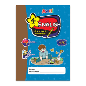 English Preschool Workbook KSPK - 4 years
