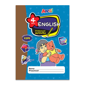 English - Preschool Activity 4 Years Old