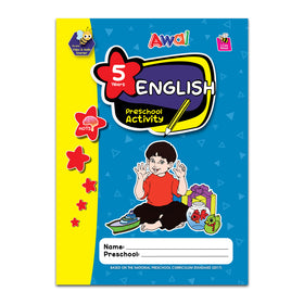 English Preschool Activity KSPK - 5 years