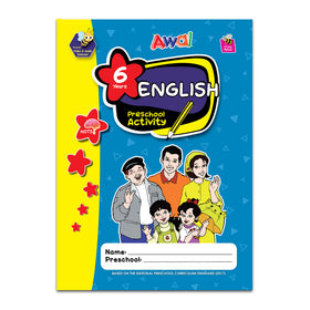 English Preschool Activity  KSPK - 6 years