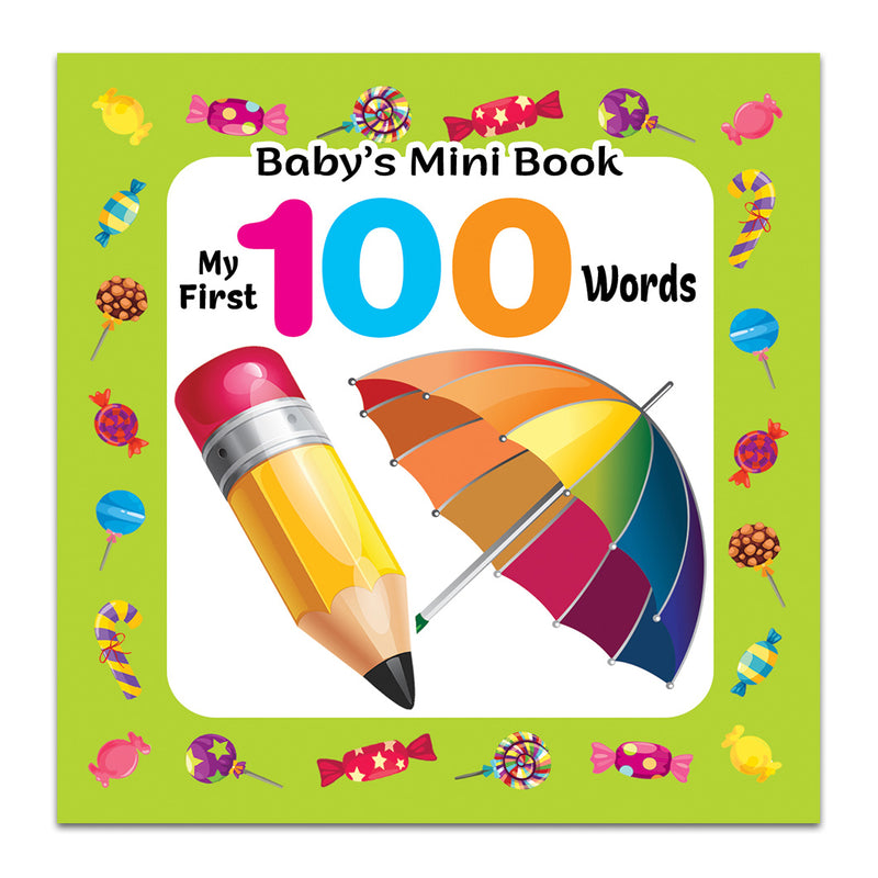 BABY'S MINI BOOK - My First 100 Words