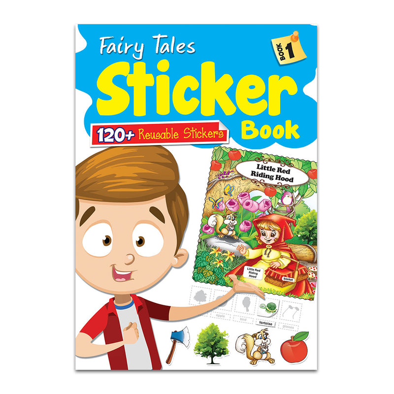 Fairy Tales Sticker Book - Book 1