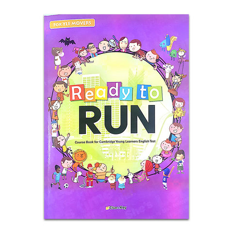 Ready To Run (For YLE MOVERS) Package : 3 Books + 3 Audio CDs