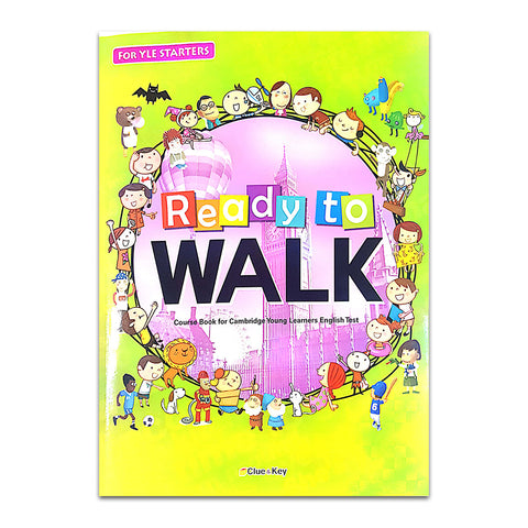 Ready To Walk (For YLE STARTERS) Package : 3 Books + 3 Audio CDs