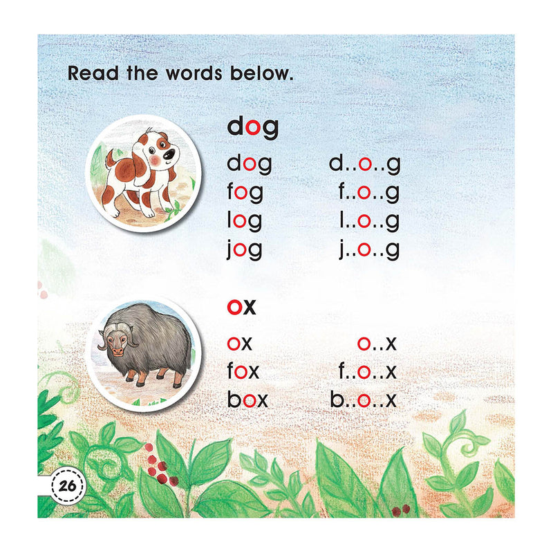 Graded Reading Level 1 - The Dog The Fox & The Ox