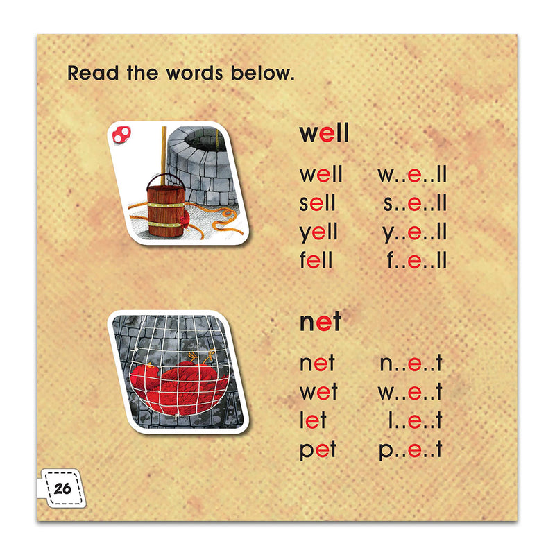 Graded Reading Level 1 - The Red Hen