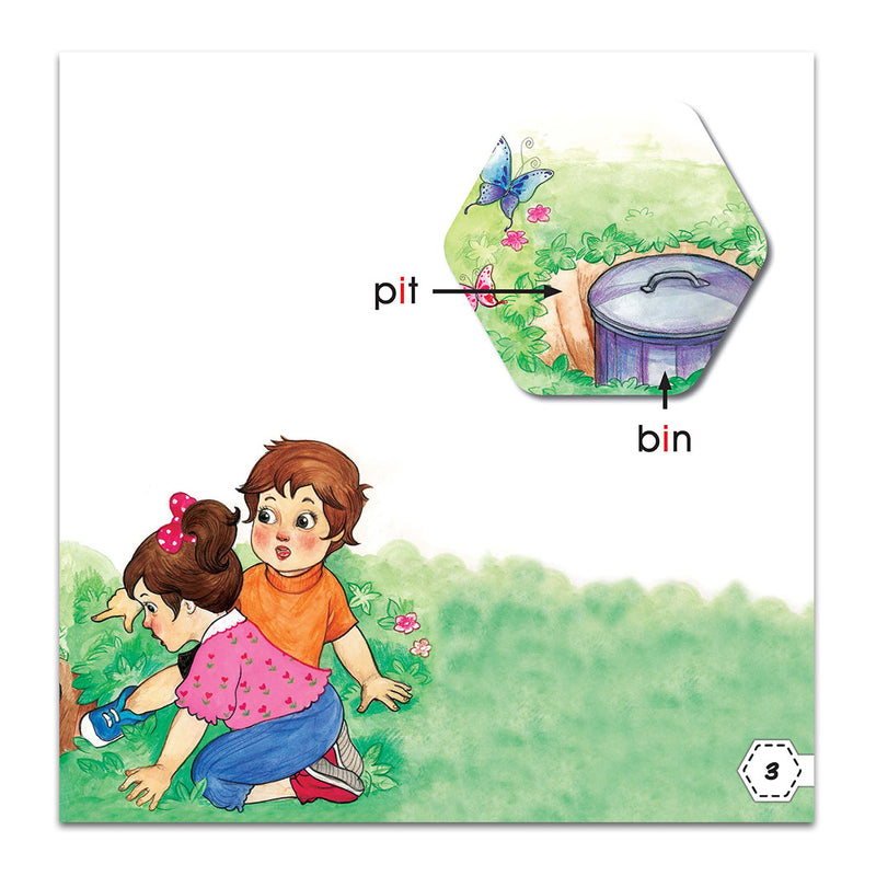 Graded Reading Level 1 - What Is In The Big Pit