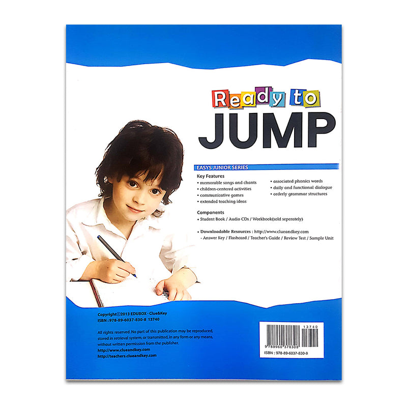 Ready To Jump (For YLE MOVERS) Package : 3 Books + 3 Audio CDs