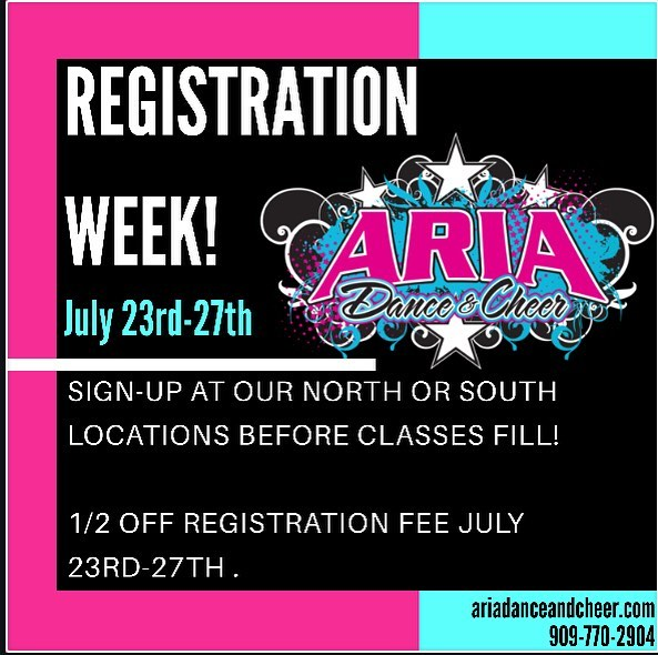 Registration Week
