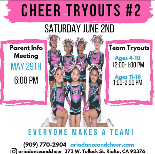 Cheer Tryouts #2