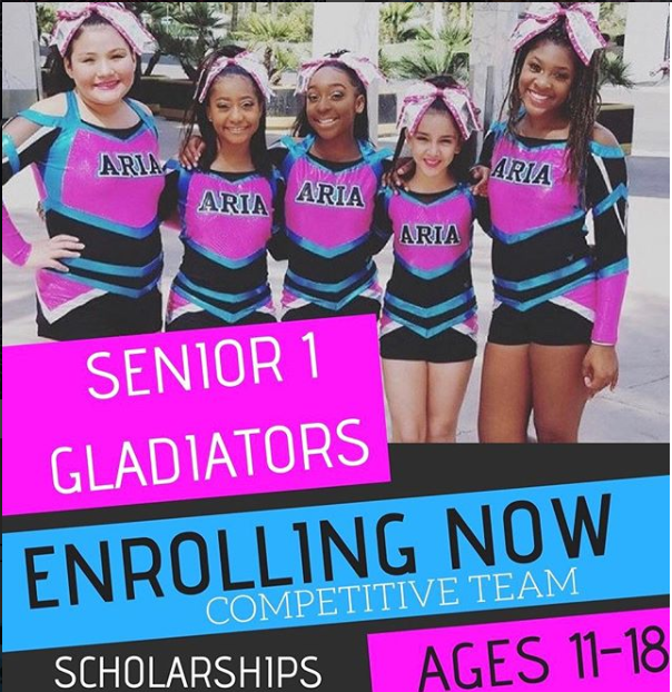 Cheer Now Enrolling