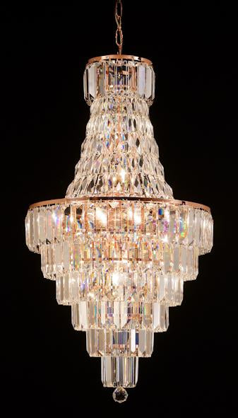 "103 Crystal Pendant Light 20in 18 Light - Asfour Crystal Chandelier [103(610-4"")-20""-610-186]"