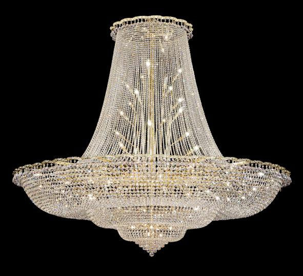 "8100 Crystal Pendant Light - 96"" 87 Light - Asfour Crystal Chandelier [8100-96""-8016]"