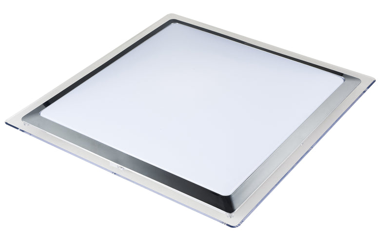 8015 LED Oyster Light - Square [D8015-SQ-CR]