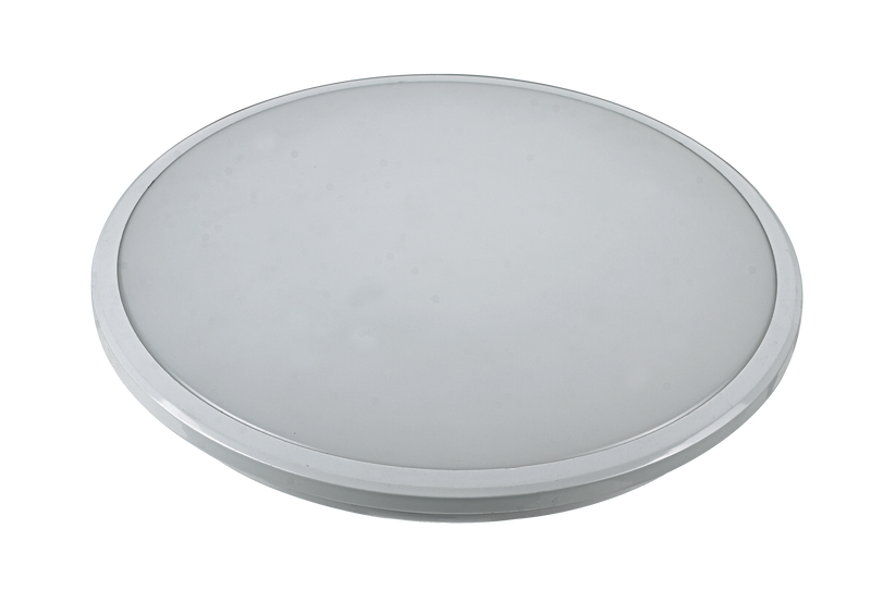 9015 LED Oyster Light - White - Round  [D9015-WH]