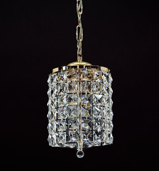 "678 Crystal Pendant Light - 7"" 3 Light - Asfour Crystal Chandelier [S-678-7""-3L-2020-96]"