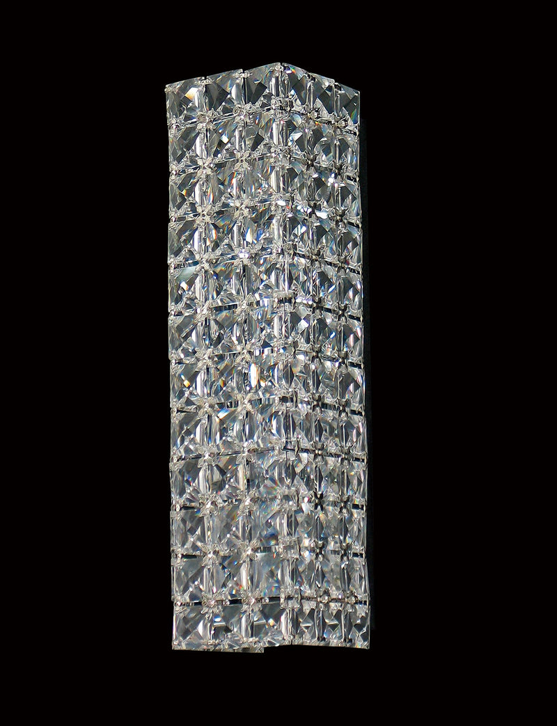 "34 Crystal Wall Light - 3"" 2 Light - Asfour Crystal [W-34-2L-22mm-108]"