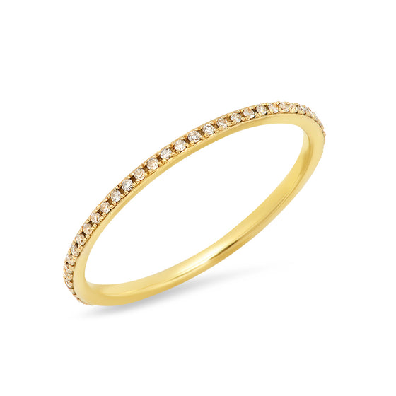 Pave Diamond Eternity ring - Online Exclusive