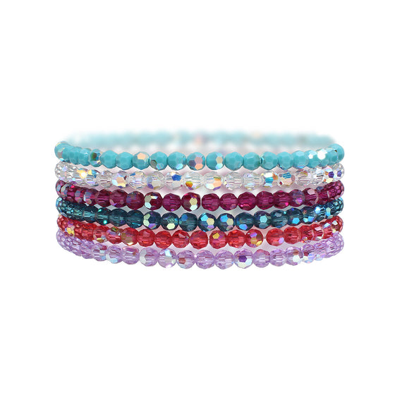 Custom crystal candy bracelet