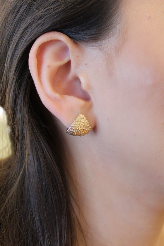 Sea Urchin Cuff Earrings