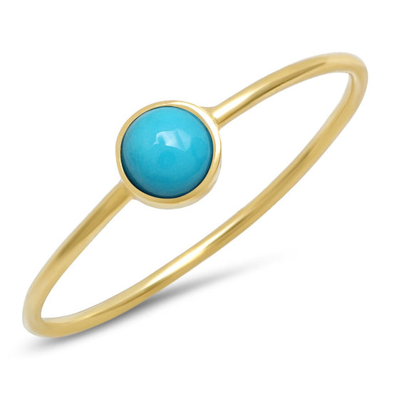 Turquoise round Ring
