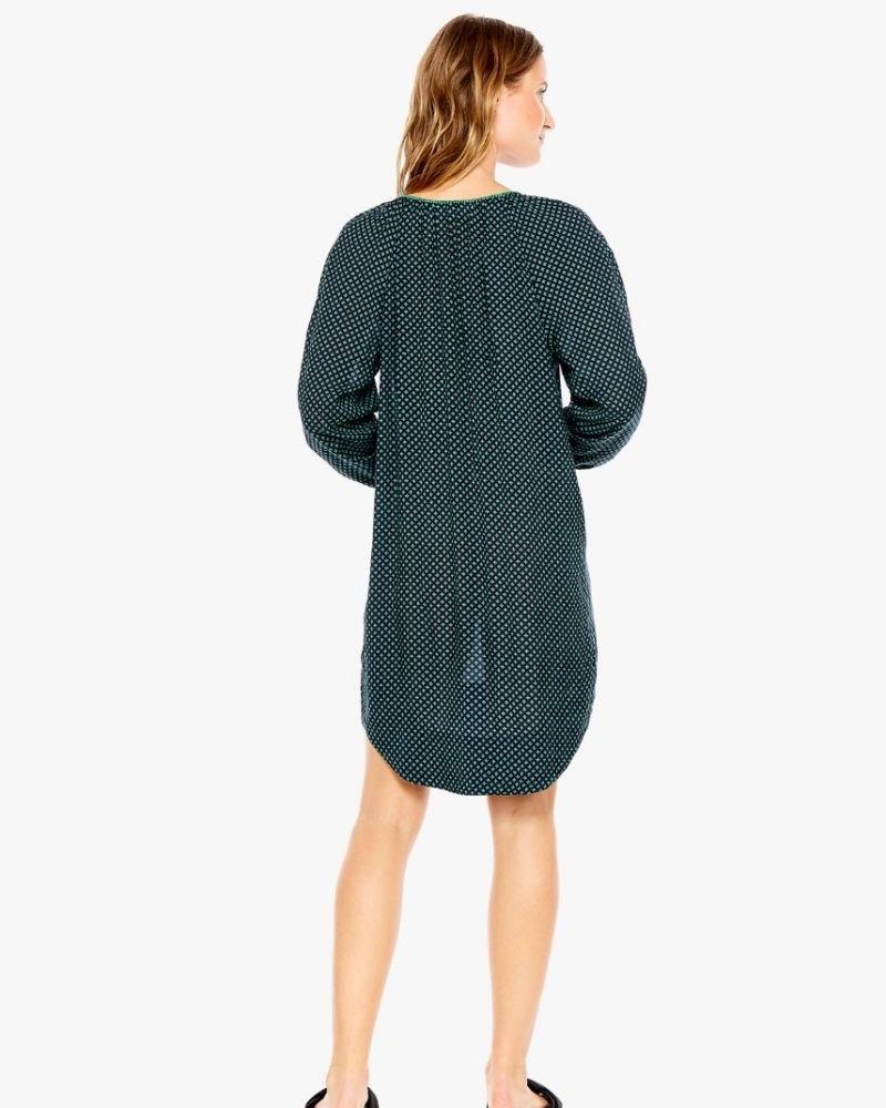 Jade Kravat Shirt Dress
