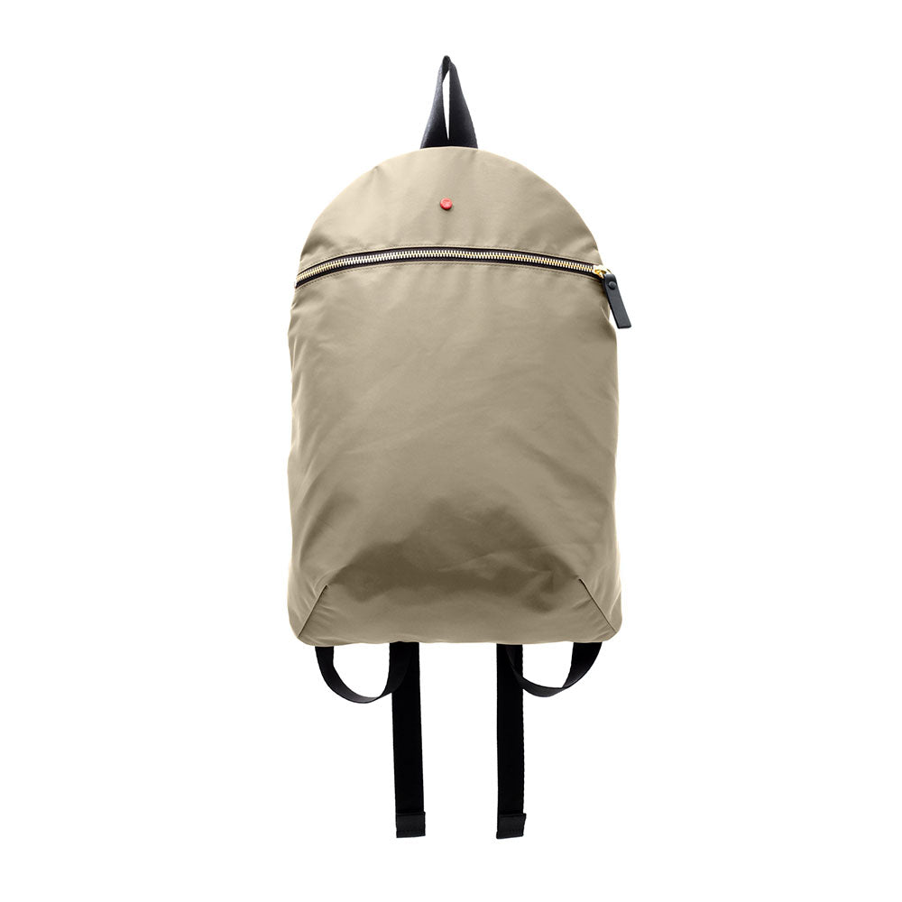 Small backpack - Nylon - beige