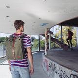 Mitch Backpack Army/Brown
