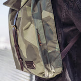 Mitch Backpack Camouflage Army/DkBrown