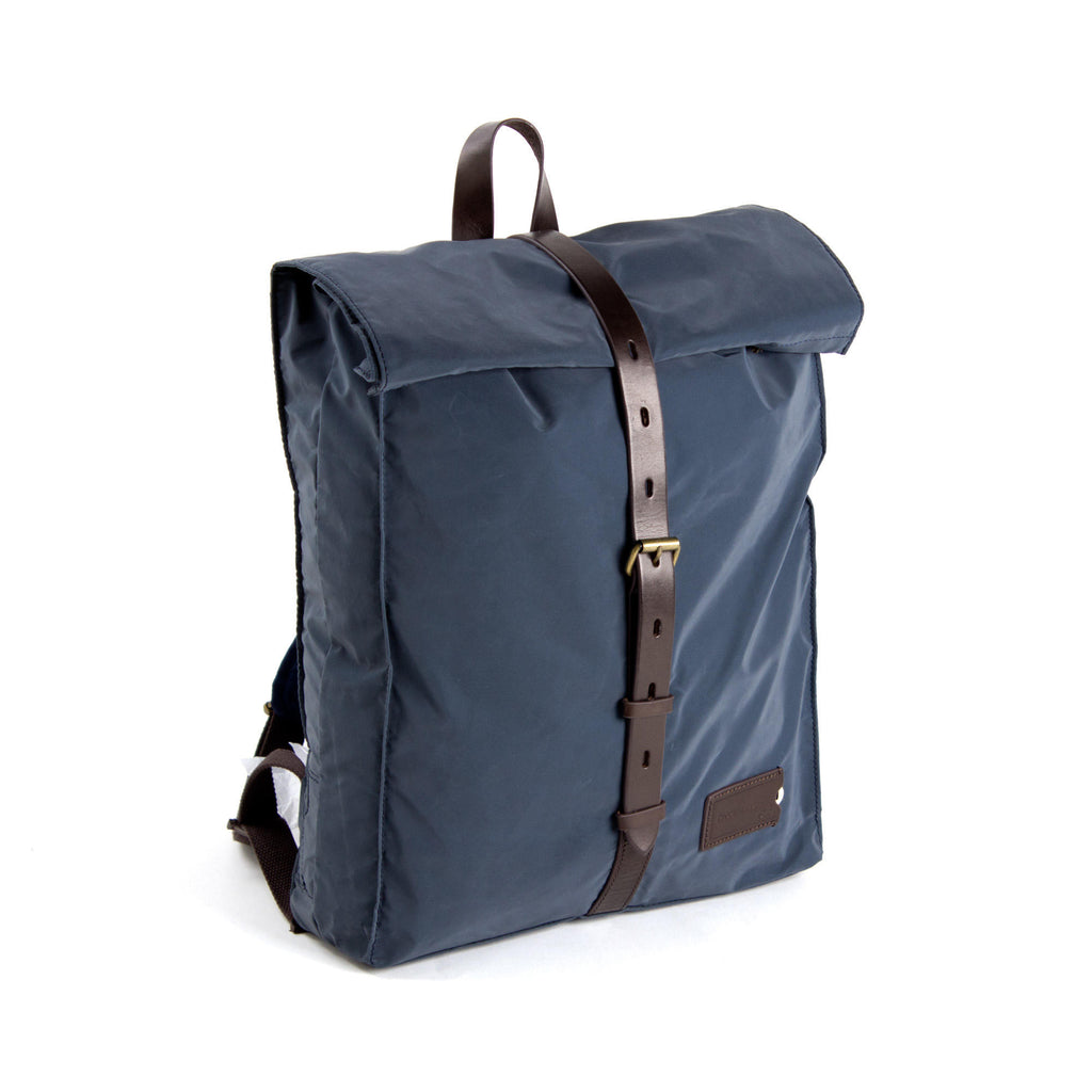 Mitch Backpack Navy/DkBrown