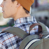 Archie Backpack Army/Brown