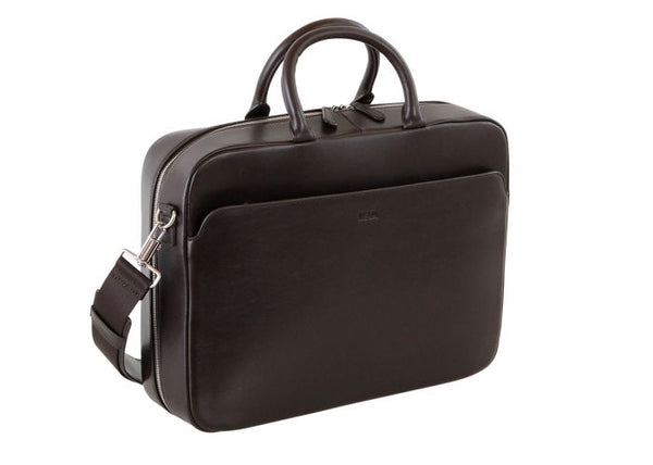 Milano Briefcase small chocolate