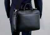 Milano Briefcase small black