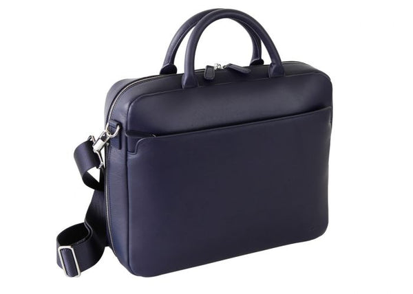 Milano Briefcase medium night blue