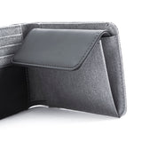 Twin Wallet coin slim light grey
