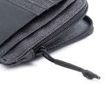 Twin Doc. & cc holder with zip anthracite