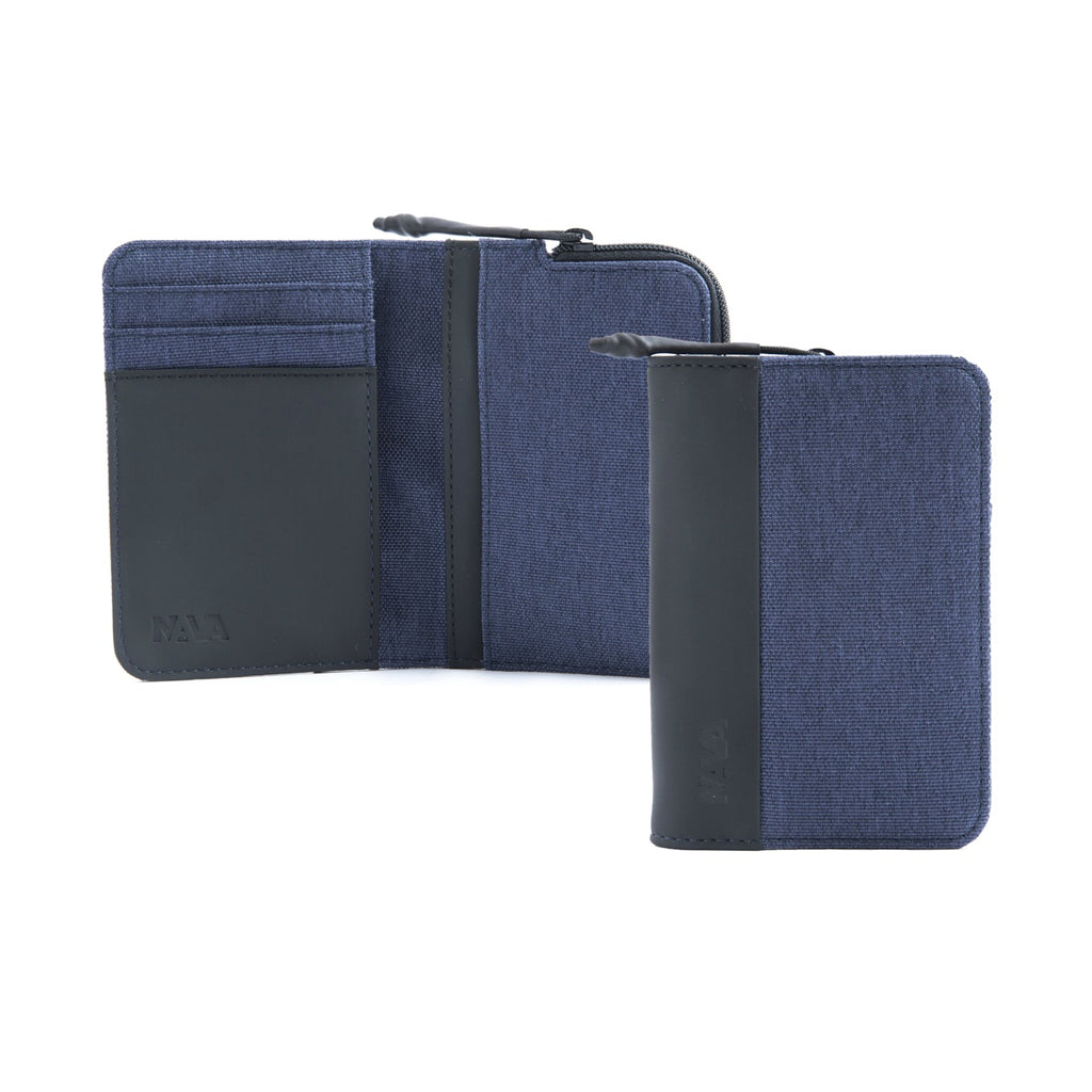 Twin Cc coin holder blue
