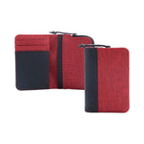 Twin Cc coin holder red
