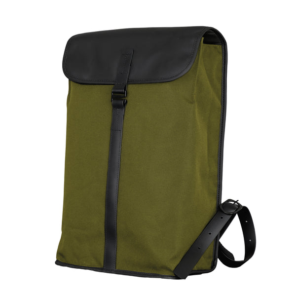 Satchel Backpack Dry Green